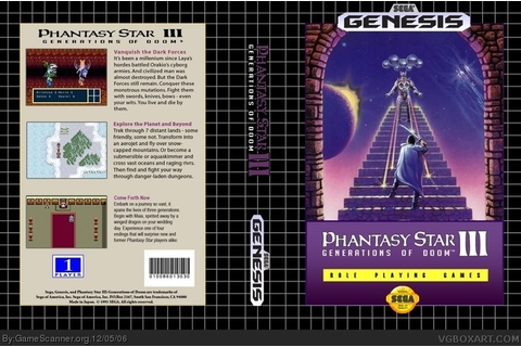 Phantasy Star III: Generations of Doom Part One: Orakian ...