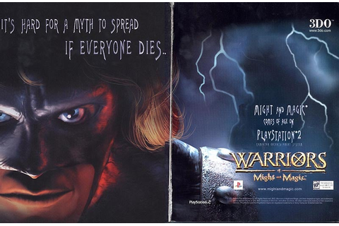 PS2 Ads: Warriors of Might and Magic - IGN