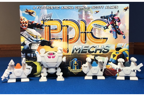 Tiny Epic Mechs - Mechanized Entertainment Combat Heroes ...