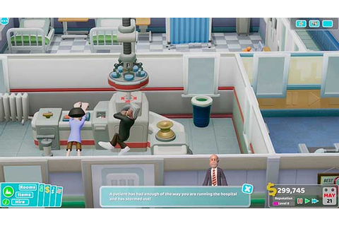 TWO POINT HOSPITAL ™】» DOWNLOAD FREE GAME at gameplaymania.com