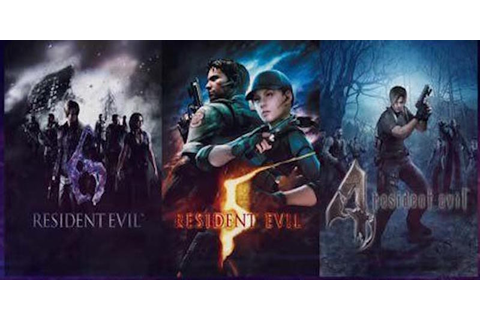 Resident Evil 4, 5, and 6 Announced for the PS4 and Xbox ...