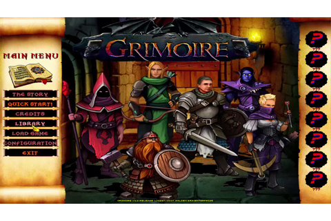 Grimoire Heralds of the Winged Exemplar Gameplay (PC game ...