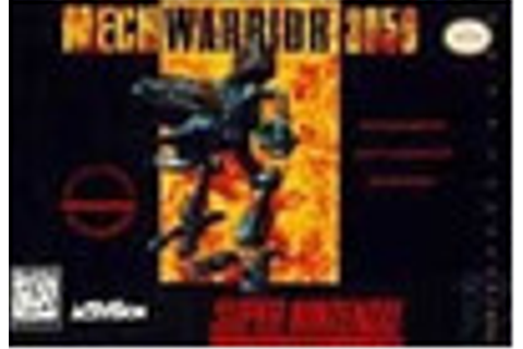 MechWarrior 3050 Super Nintendo SNES Game For Sale | DKOldies