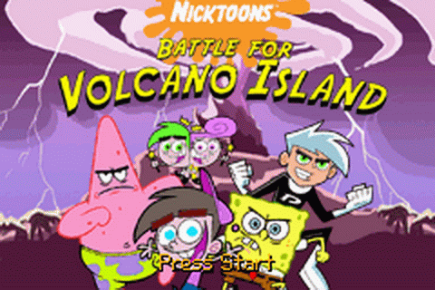 Play Nicktoons - Battle for Volcano Island Nintendo Game ...