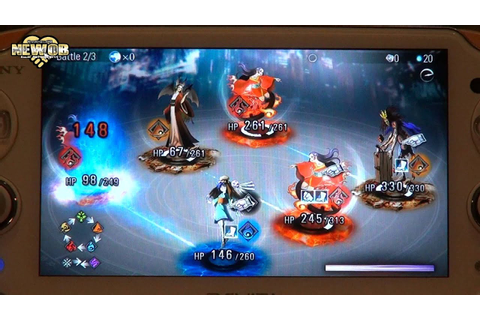 PS Vita - Destiny of Spirits - Tough Battles - YouTube