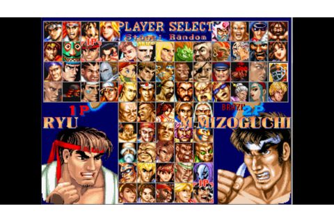 Street Fighter 2 vs Clones Series EP6: Ryu vs Mizoguchi ...