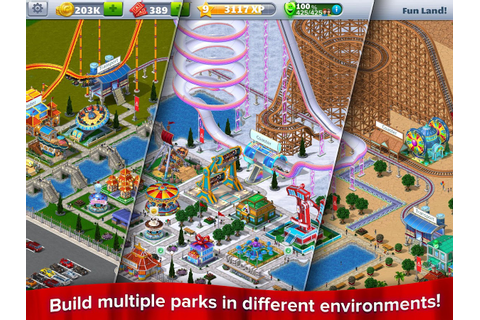 RollerCoaster Tycoon® 4 Mobile - Android Apps on Google Play