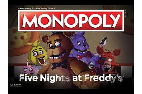 confirman un Monopoly de Five Nights at Freddy's - YouTube