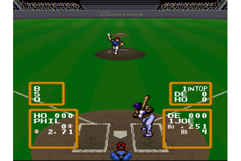 Super Baseball Simulator 1.000 Download Game | GameFabrique