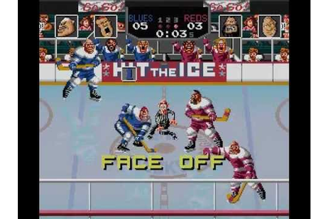 SNES Hit The Ice - YouTube