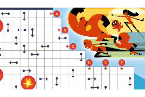 Incredibles Maze - Free Disney Pixar Activity Page Download