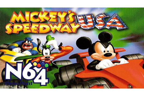 Mickey's Speedway USA - Nintendo 64 Review - HD - YouTube