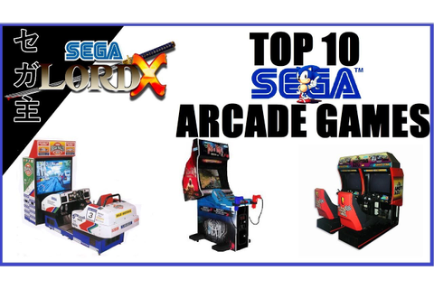 The SLX Top 10 Sega Arcade Games - YouTube