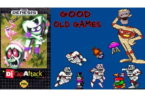 Decap Attack Gameplay Sega Good Old Games HD - YouTube