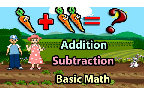 Basic Math For Kids: Addition and Subtraction, Science ...