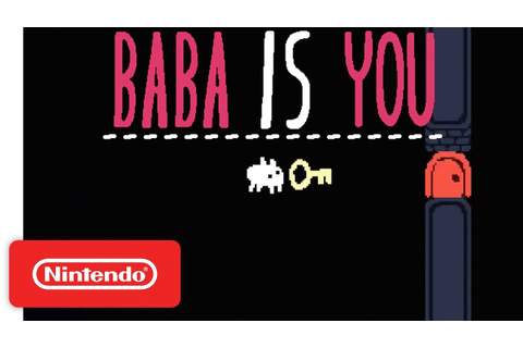 Baba Is You - Release Date Trailer - Nintendo Switch - YouTube