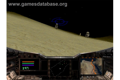 Shockwave Assault - Sega Saturn - Games Database