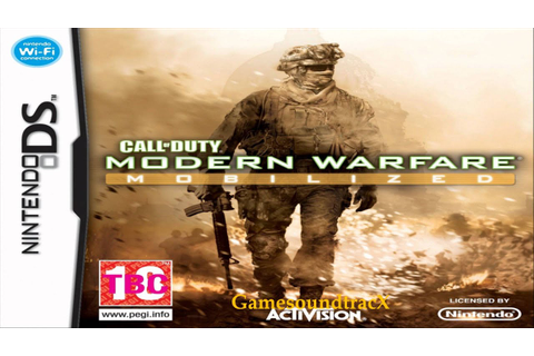 Call Of Duty Modern Warfare Mobilized - Covert Ops - Theme ...
