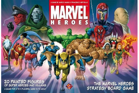 Marvel Heroes | Board Game | BoardGameGeek