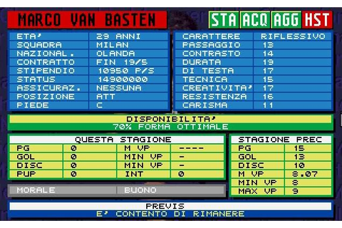 Download free software Championship Manager Italia 93 94 ...