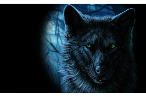 animals fantasy art wolf artwork Wallpapers HD / Desktop ...