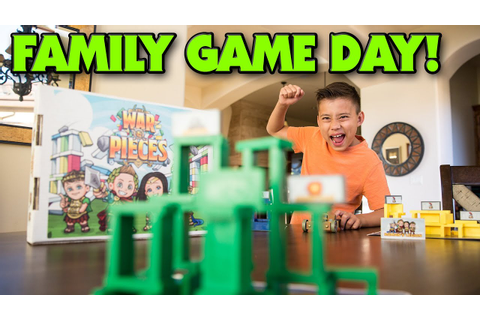WAR & PIECES - Family Game Night (Day)!!! - YouTube