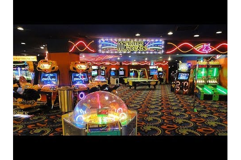 Excalibur: Las Vegas, NV (Fun Dungeon Arcade) - YouTube