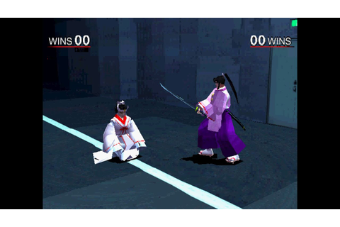 Bushido Blade 2 [PS1] - play as the Priestess (original ...