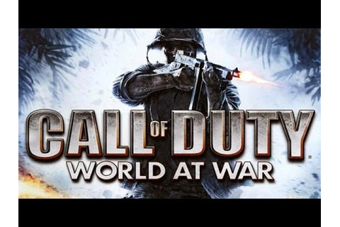 Call Of Duty World at War - Game Movie - YouTube