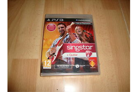 SINGSTAR GUITAR SOLO JUEGO PARA LA SONY PLAY STATION 3 PS3 ...