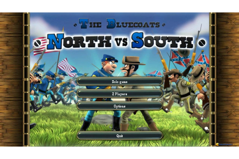 North vs. South gameplay (PC Game, 1999) - YouTube