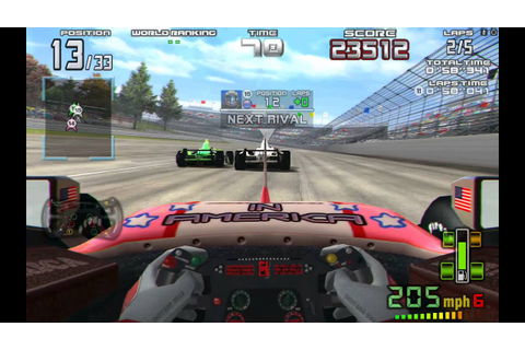 Indy 500 arcade racing- Nvidia shield tablet - YouTube
