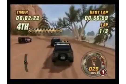 Hummer Badlands Ps2 - YouTube