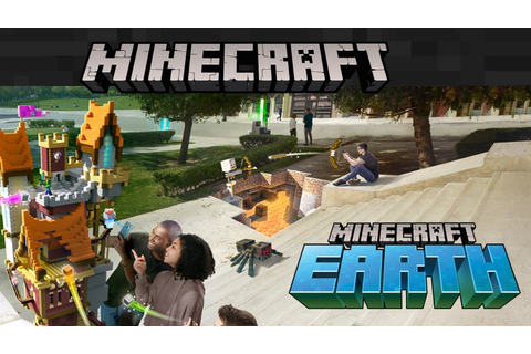 Minecraft Earth AR Game Announced for Android, iOS ...