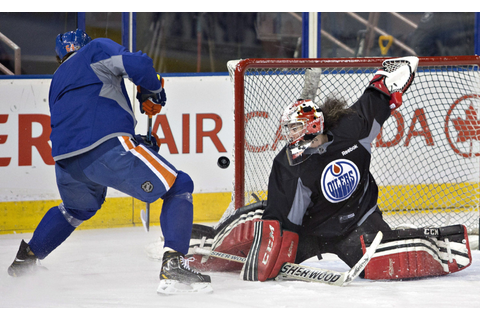 Team Canada goalie Shannon Szabados fills in at Edmonton ...