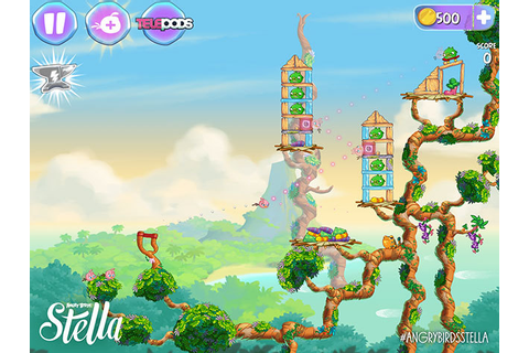 Angry Birds Stella Is Rovio's New Line Of Games, Cartoons ...
