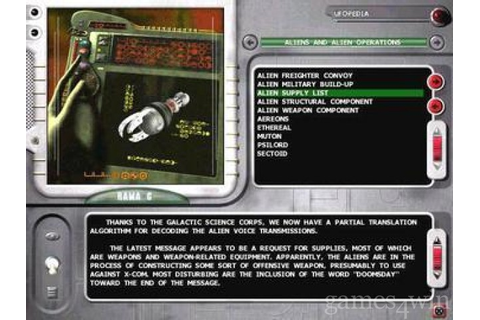 X-Com Interceptor Download on Games4Win
