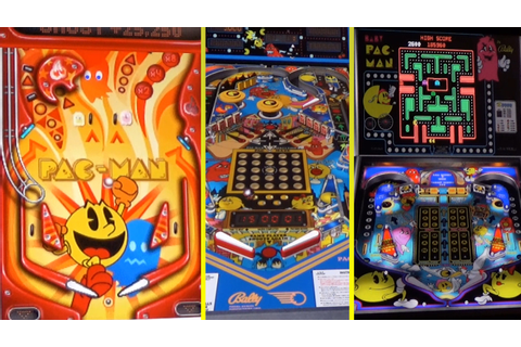 Pac-Man Pinball Games - YouTube