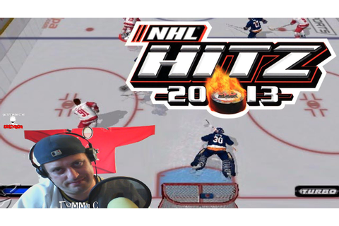 Hawks Win Game 5 NHL Hitz 2003 Game Play #StanleyCup - YouTube