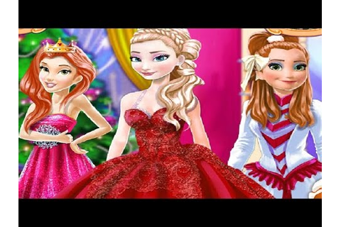 Disney Princesses Belle Elsa and Anna Holiday Christmas ...