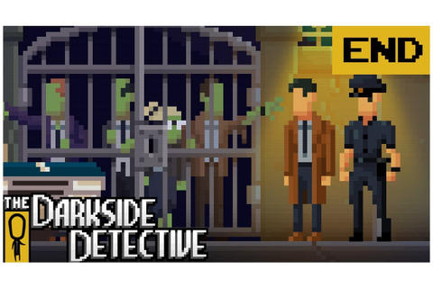 ENDING - The Darkside Detective EP. 8 - Lets Play The ...