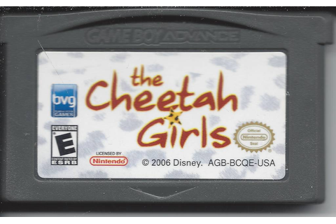 The Cheetah Girls - Game Boy Advance GBA - Passion For Games