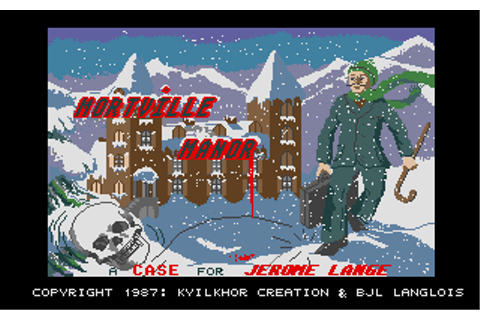 Atari ST Mortville Manor : scans, dump, download ...