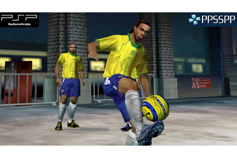 Fifa Street 2 - PSP Gameplay 1080p (PPSSPP) - YouTube