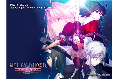 Melty Blood Actress Again Current Code Save Game | Manga ...