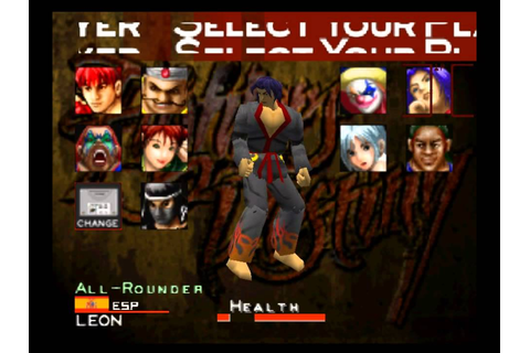 Fighters Destiny Character Select N64 - YouTube