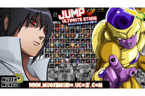 Jump Ultimate Stars Reborn V3 (FULL GAME DOWNLOAD) #Mugen ...