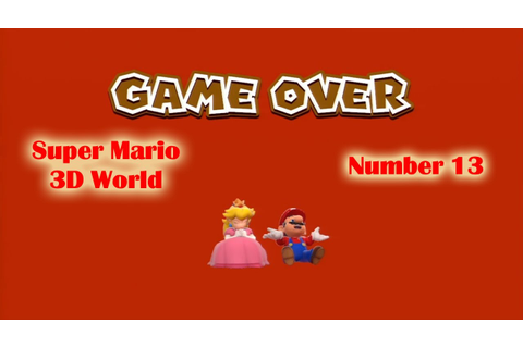 Super Mario 3D World - Game Over Warriors - YouTube