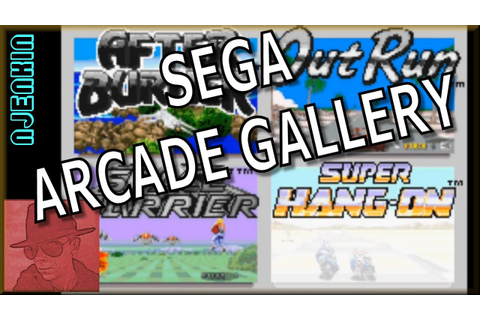 Super Hang-On - SEGA Arcade Gallery - on the Game Boy ...