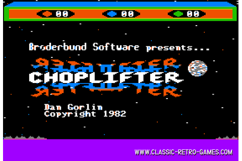 Download Choplifter & Play Free | Classic Retro Games